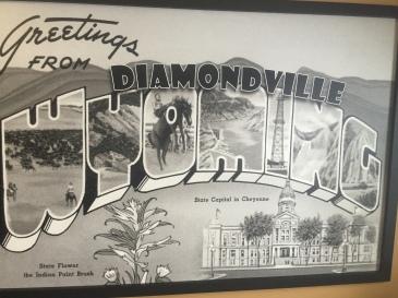 We are now in Kemmerer/Diamondville.